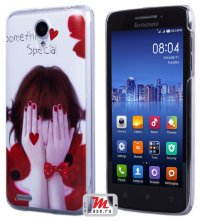 Задняя крышка для Lenovo IdeaPhone S650 Vibe X mini Hard Print Cover Somethink Special