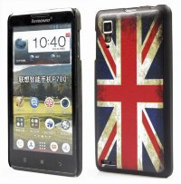 Задняя крышка для Lenovo IdeaPhone P780 Hard Print Cover Great Britan