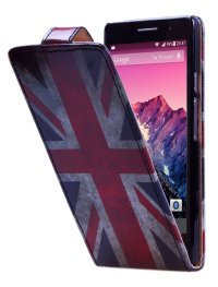 Чехол для Huawei Ascend P6 Vertical Print Cover Great Britain