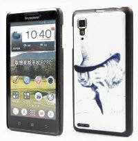 Задняя крышка для Lenovo IdeaPhone P780 Hard Print Cover Ariel