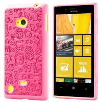 Чехол для Nokia Lumia 720 TPU Lovers