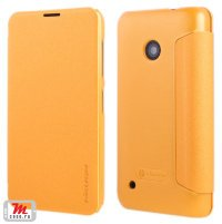 Чехол для Nokia Lumia 530 Nillkin Sparkle Leather Case