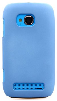Чехол для Nokia Lumia 710 Soft Touch Cover голубой