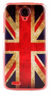 Чехол для Lenovo IdeaPhone S820 Hard Print Cover Great Britain