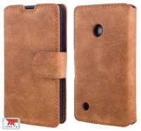Чехол для Nokia Lumia 530 Shammy Leather Cover