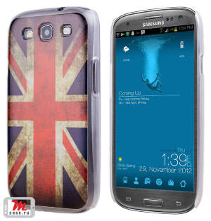 Чехол для S3 i9300/i9300i (S3 Duos) Hard Print Cover Great Britain