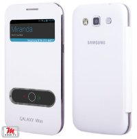 Чехол для Samsung Galaxy Win i8552 S-View Glass Cover