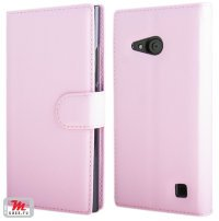 Чехол для Nokia Lumia 735 / 730 Litchi Leather Flip Cover