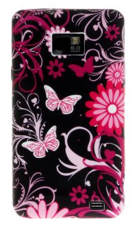 Чехол для Samsung Galaxy S2 Silicon Print Cover