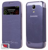 Чехол для Samsung Galaxy S4 mini S-View Glass Cover