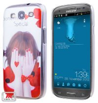 Чехол для S3 i9300/i9300i (S3 Duos) Hard Print Cover Something Special