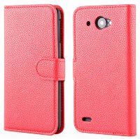 Чехол для Lenovo IdeaPhone S920 Litchi Leather Flip Cover