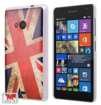 Чехол для Lumia 535 Hard Print Cover Great Britain