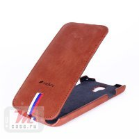 Чехол для  Samsung Galaxy S4 Melkco Brown