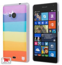Чехол для Lumia 535 Hard Print Colorful Day