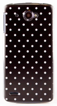Чехол для Lenovo IdeaPhone S920 Hard Print Cover Black Dots