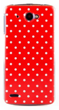Чехол для Lenovo IdeaPhone S920 Hard Print Cover Red Dotes